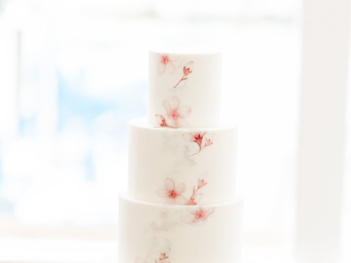 Tmx Cherryblossominspirededitorial Ashleybaumgartnerphotographyandcalligraphy Restofgallery 172 51 755095 V1 Fairfield, CA wedding cake