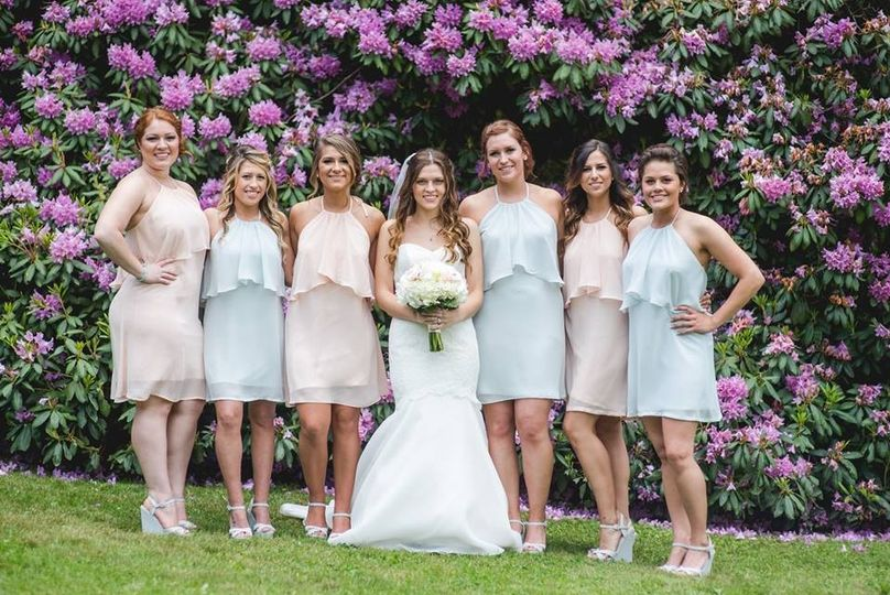 Bridal squad Thanks to Kim Spins Photography