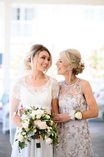 Bride and Mom!