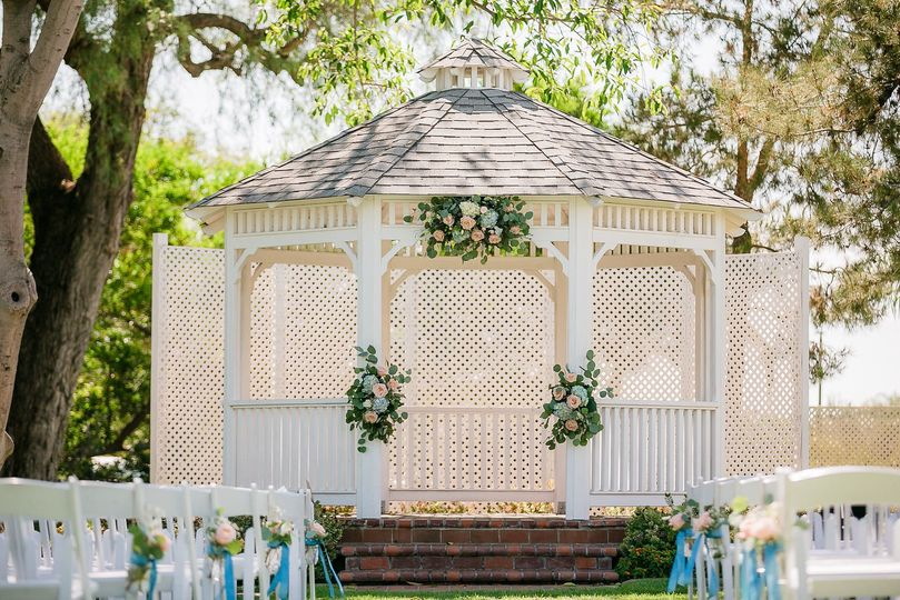 Gazebo Ceremony-Photo by Sarah Mack Photography