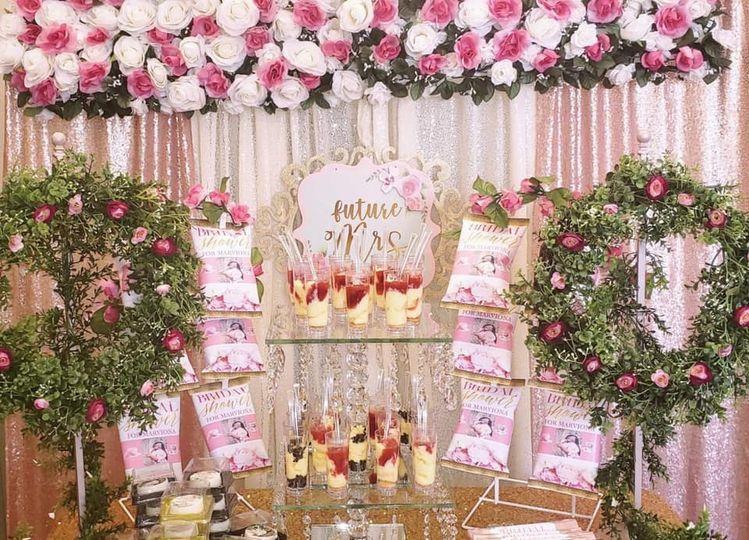 Bridal Shower Dessert Bar