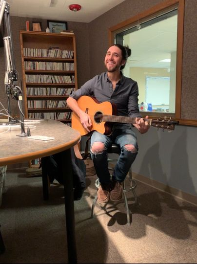 Performing on WYSO radio