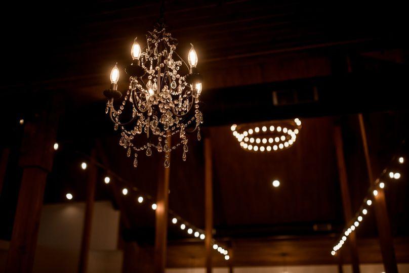 The barn ceilings