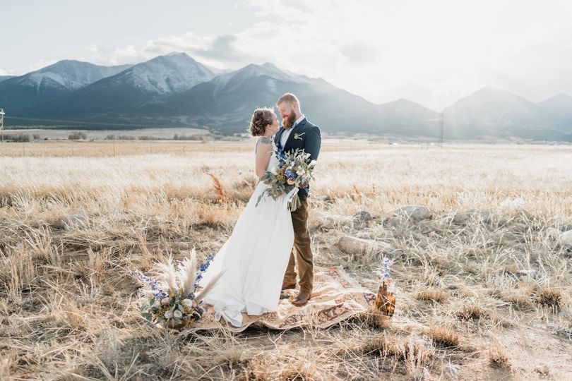 Styled wedding at the Barn