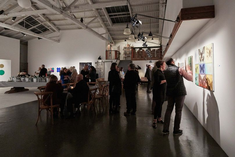 Guests at the West Studio