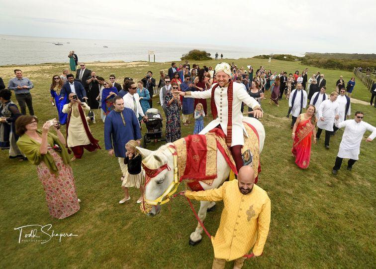 Montauk Baraat Before Wedding
