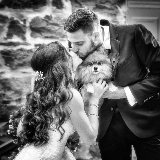Orthodox Wedding With Dog