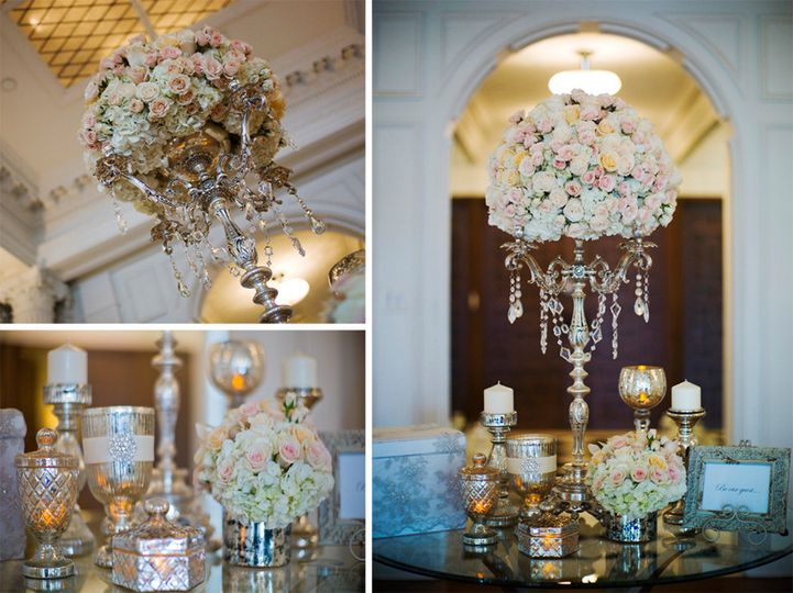This is the wedding floral we did for Alisia and Ody at the Beverly Wilshire Hotel's penthouse.