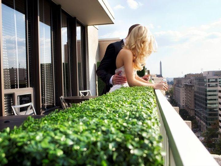 Tmx 1388696878863 Bride And Groom On Balcony   Low Re Washington, DC wedding venue