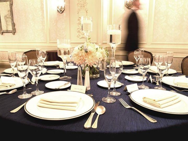 Tmx 1388697358446 Navy Table Settin Washington, DC wedding venue