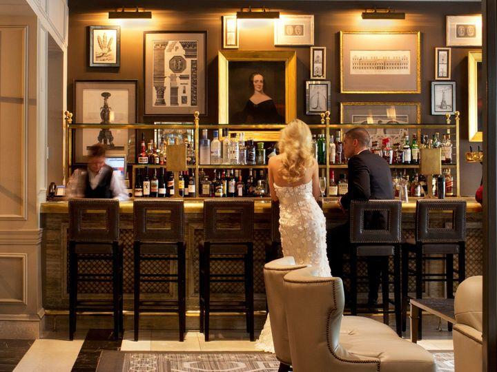 Tmx 1388699798118 Bride And Groom At Lobby Bar  Washington, DC wedding venue
