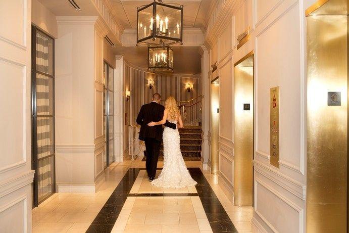 Tmx 1388699814116 Bride And Groom In Lobby Hallway  Washington, DC wedding venue