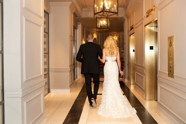 Tmx 1388699817981 Bride And Groom In Lobby Hallwa Washington, DC wedding venue