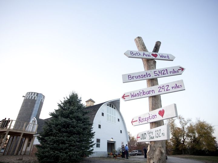 Tmx 1430782564244 Five Lakes Barn With Forked Wood Sign For Wedding  Frazee, MN wedding venue