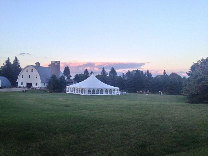 Tmx 1430782652140 Tented Wedding At Five Lakes Frazee, MN wedding venue