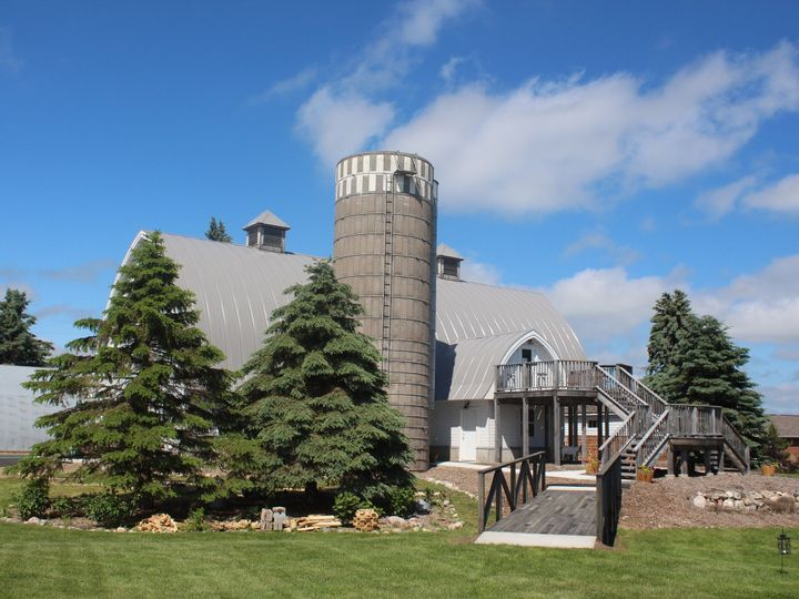 Tmx 1458926739250 Barn And Bride From The Pasture Frazee, MN wedding venue