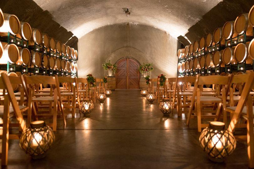 Wine Cave Ceremony