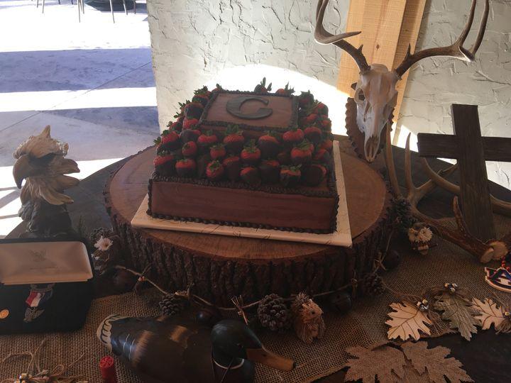 Choc/Choc Groom's Cake