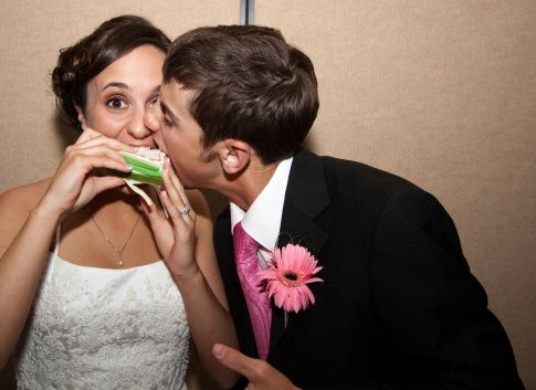 newlyweds attack the wedding cake small gettyimages 93985251 51 1992195 161478413185399