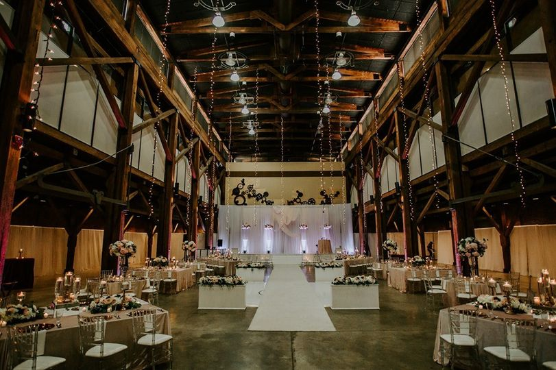 North Exhibit Hall Wedding