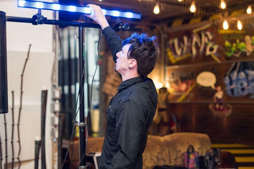 Adjusting the Lights
