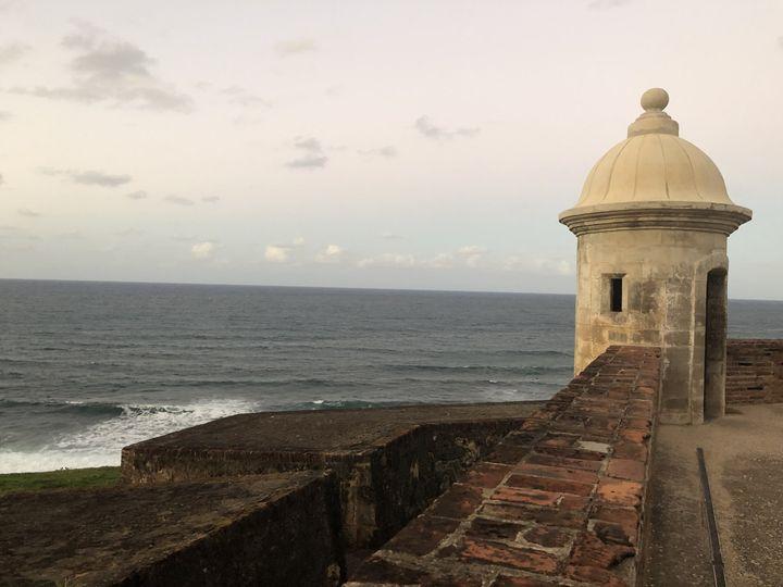 Ocean view of Puerto Rico