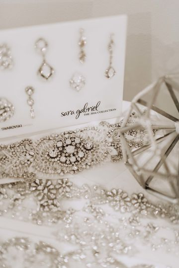 We carry a variety of accessory designers! Photo by: KCM Studios