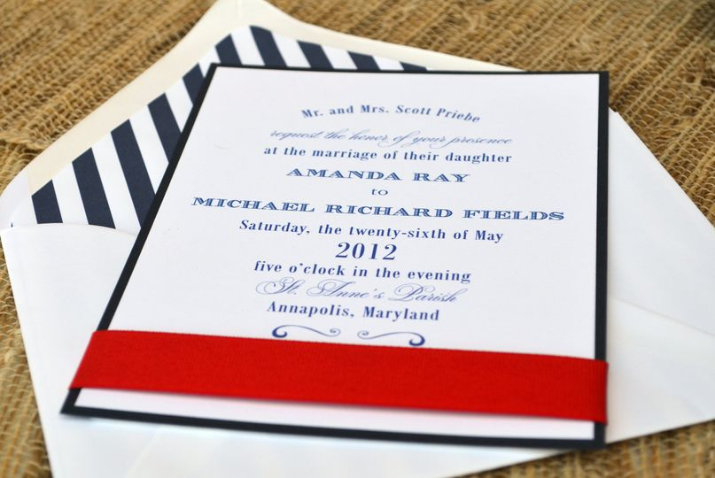 Paper in the Park - Invitations - Severna Park, MD - WeddingWire
