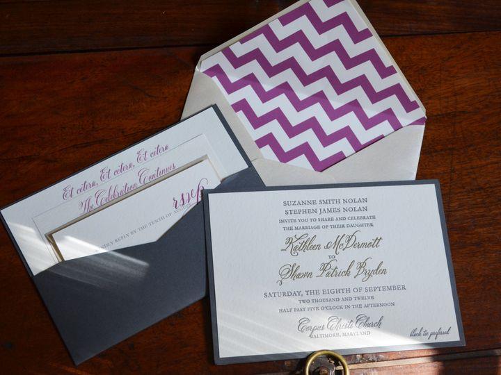 Tmx 1380653853169 Kathleen Millersville, MD wedding invitation