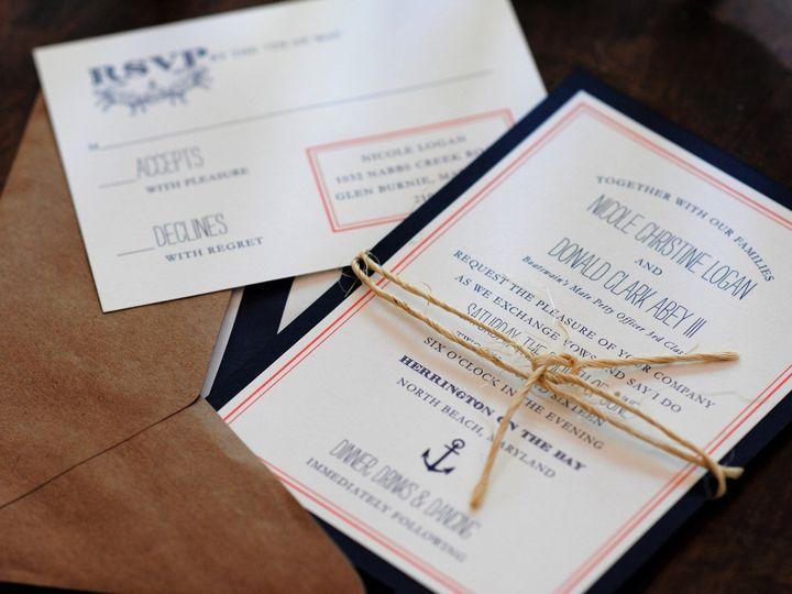 Tmx 1477667623661 2016 10 17 09.40.52 Millersville, MD wedding invitation