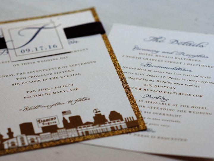 Tmx 1477667648583 2016 10 17 09.30.10 Millersville, MD wedding invitation