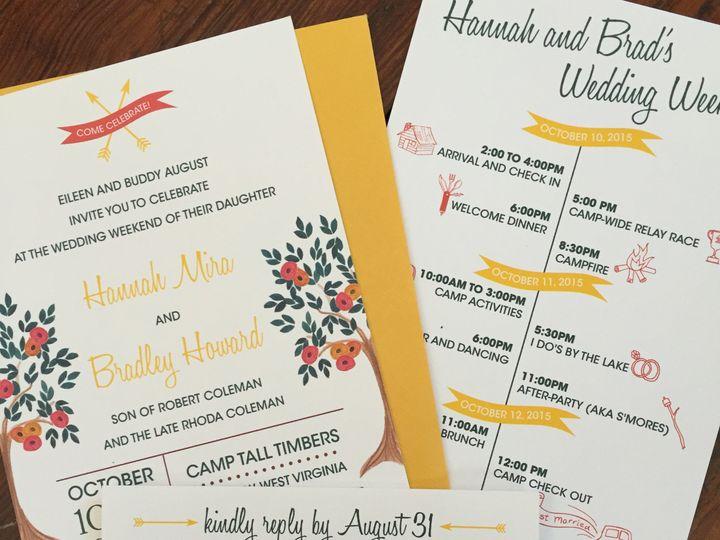 Tmx 1477672507053 Img1625.2 Millersville, MD wedding invitation