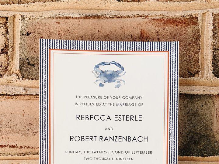 Tmx 778d7185 0f53 4af8 B05b 7247efbcaba0 51 158195 159906482558051 Millersville, MD wedding invitation