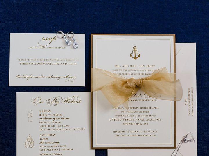 Tmx Julie And Cole Wedding 1094 51 158195 1562950898 Millersville, MD wedding invitation