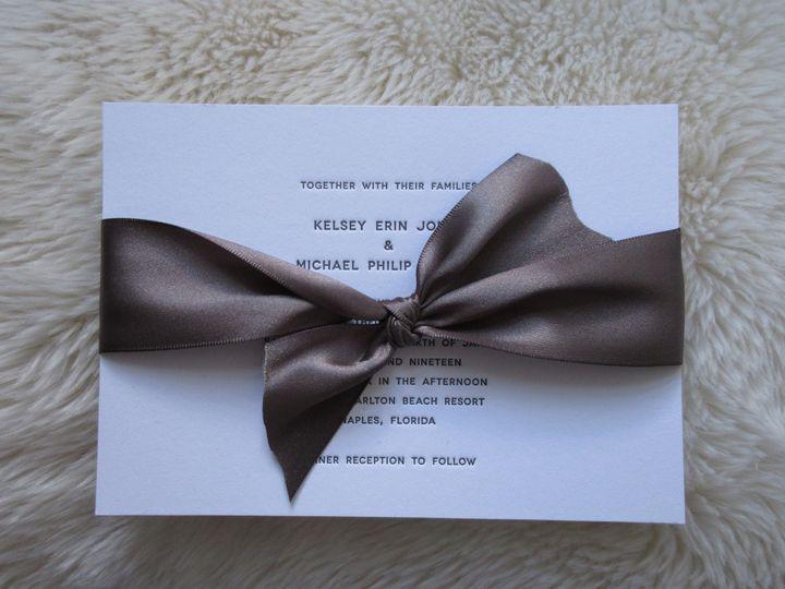 Tmx Kelsey 51 158195 Millersville, MD wedding invitation