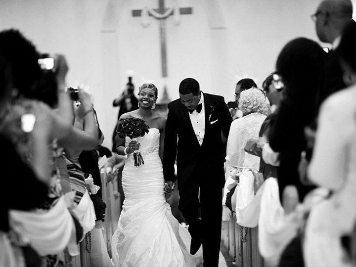 Tmx 1359171366397 WilsonAlexanderblackandwhiteinaisle.AM2 Brooklyn wedding florist