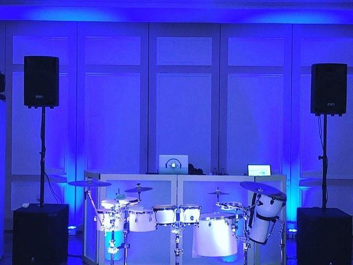 Tmx Sole Setup Blue Percussion 51 909195 1556331206 Old Bridge, NJ wedding dj
