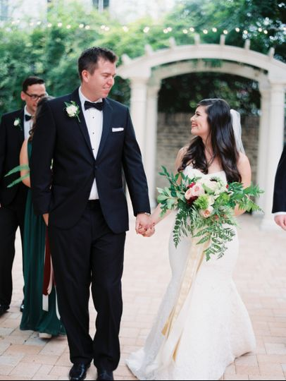 Just got married | Jenna McElroy photography