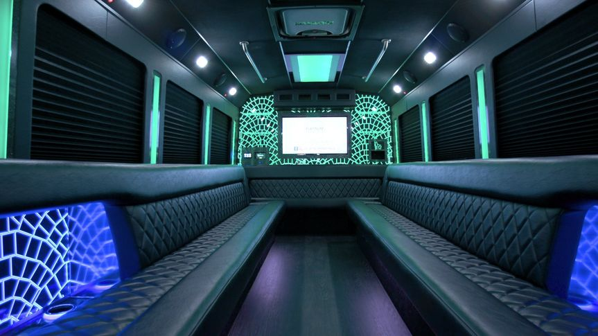 24 person limo bus
