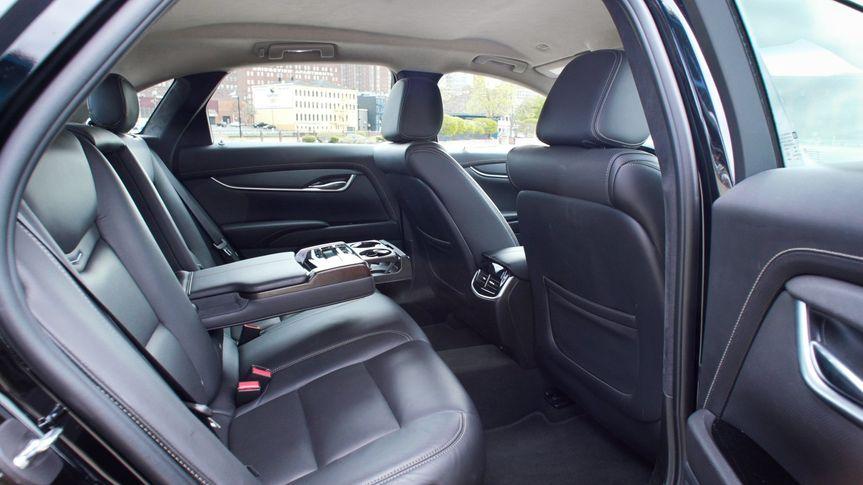 Interior of Cadillac XTS