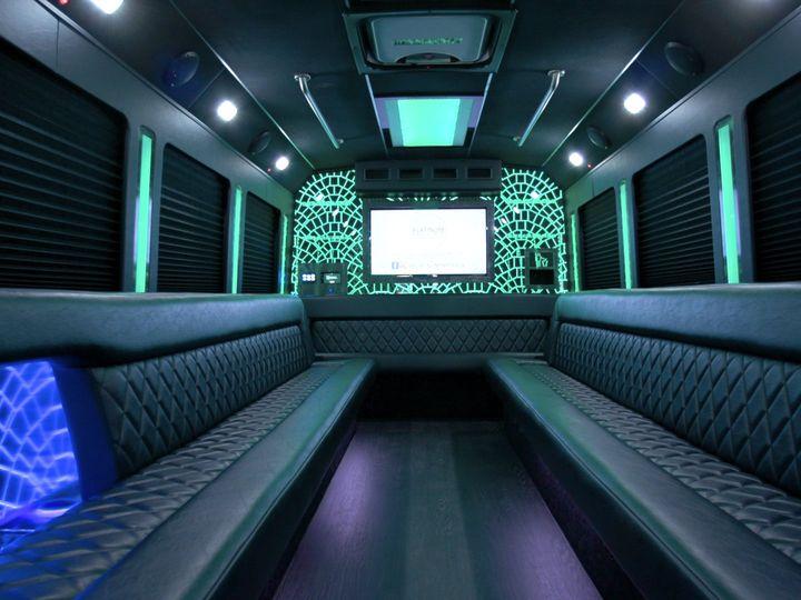 Tmx Bus3 Interior Back 51 650295 1565824764 North Royalton, Ohio wedding transportation