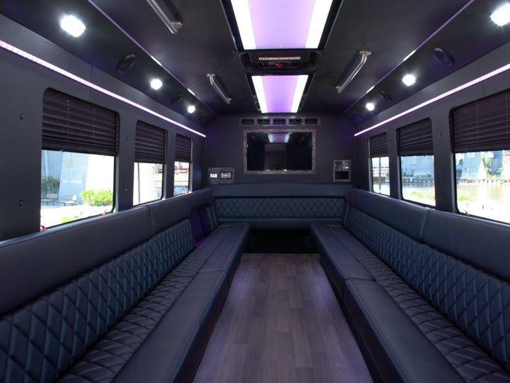 Tmx Bus9 Interior Back 51 650295 1565824641 North Royalton, Ohio wedding transportation