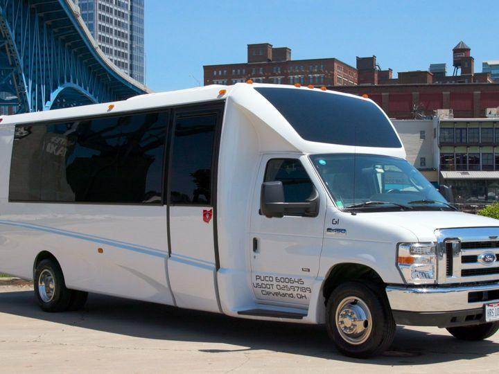 Tmx Shuttle Front 51 650295 1565824736 North Royalton, Ohio wedding transportation
