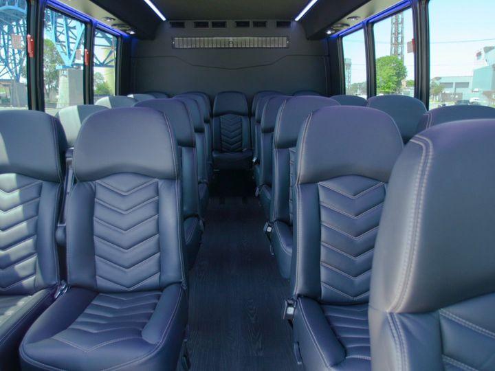 Tmx Shuttle Interior Back 51 650295 1565824735 North Royalton, Ohio wedding transportation