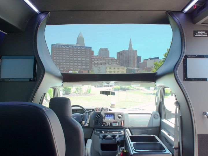 Tmx Shuttle Interior Front2 51 650295 1565824752 North Royalton, Ohio wedding transportation