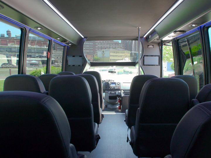 Tmx Shuttle Interior Front 51 650295 1565824719 North Royalton, Ohio wedding transportation