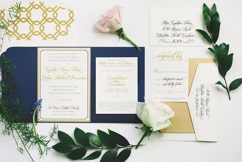 Elle Dee Designs Invitations Charlotte Nc Weddingwire