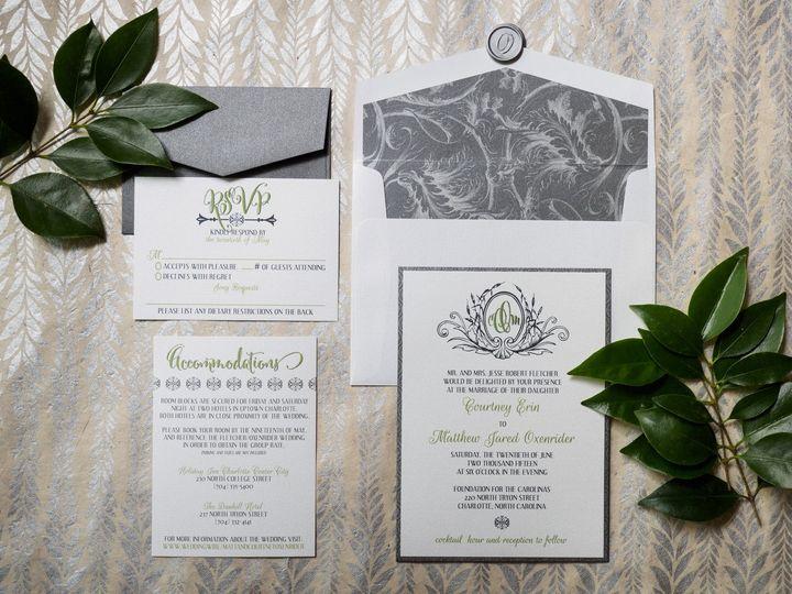 Tmx 1436392759623 Crowe6026 Charlotte wedding invitation