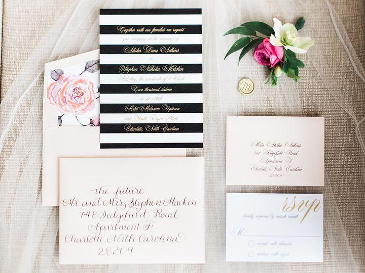 Tmx 1470082789528 Mintmusesumweddingcathydurigphotography 39 Charlotte wedding invitation