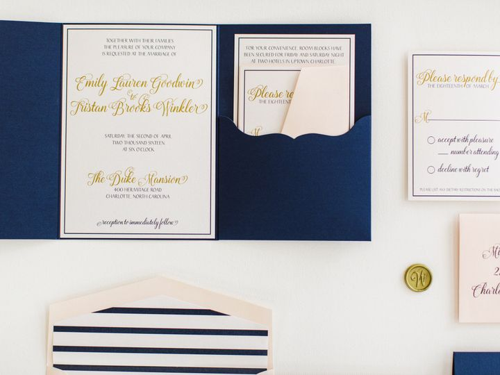 Tmx 1470083007002 Duke Mansion Grand Tasting 99 Of 118 Charlotte wedding invitation